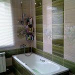 Керамическая плитка для ванной - фото (27)