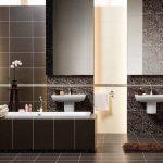 Керамическая плитка для ванной - фото (28)