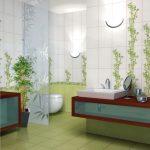 Керамическая плитка для ванной - фото (30)