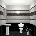 Керамическая плитка для ванной - фото (32)