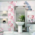 Керамическая плитка для ванной - фото (34)