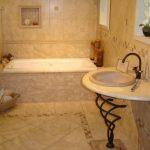 Керамическая плитка для ванной - фото (39)