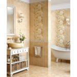 Керамическая плитка для ванной - фото (40)