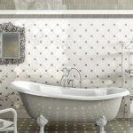 Керамическая плитка для ванной - фото (42)