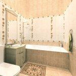 Керамическая плитка для ванной - фото (53)