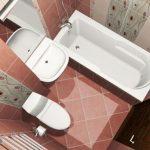 Керамическая плитка для ванной - фото (57)