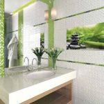 Керамическая плитка для ванной - фото (59)