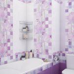 Керамическая плитка для ванной - фото (60)