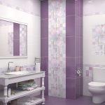 Керамическая плитка для ванной - фото (61)