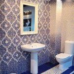 Керамическая плитка для ванной - фото (68)