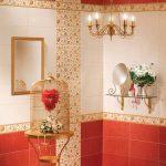 Керамическая плитка для ванной - фото (70)