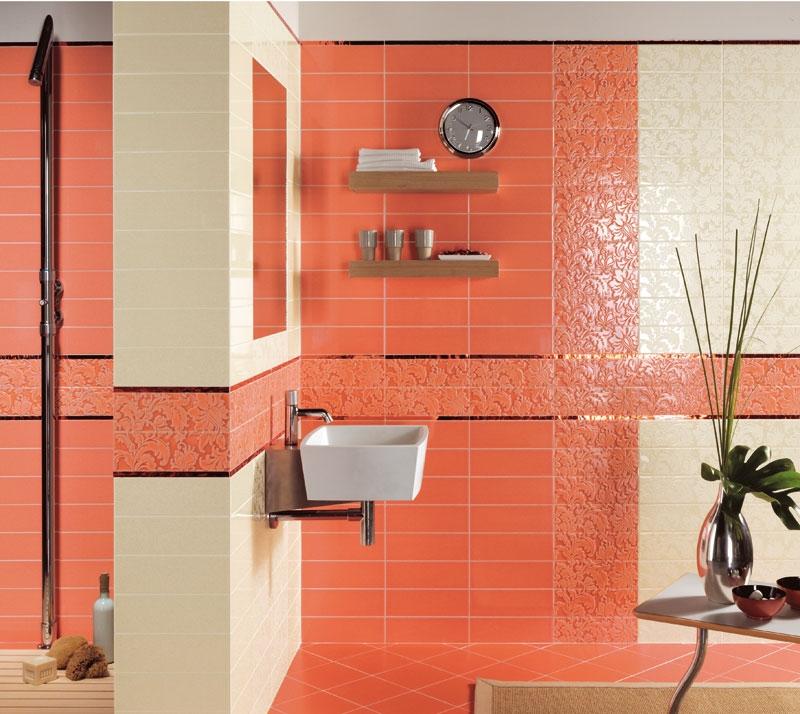 Керамическая плитка для ванной - фото (71)