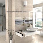 Керамическая плитка для ванной - фото (73)