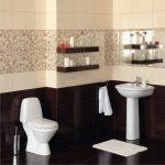 Керамическая плитка для ванной - фото (74)