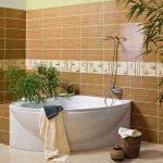 Керамическая плитка для ванной - фото (76)