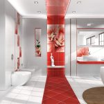 Керамическая плитка для ванной - фото (8)