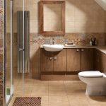 Керамическая плитка для ванной - фото (81)