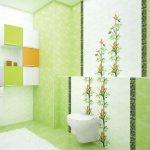 Керамическая плитка для ванной - фото (83)