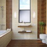 Керамическая плитка для ванной - фото (86)
