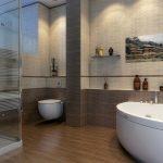 Керамическая плитка для ванной - фото (9)