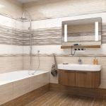 Керамическая плитка для ванной - фото (91)