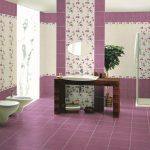 Керамическая плитка для ванной - фото (94)