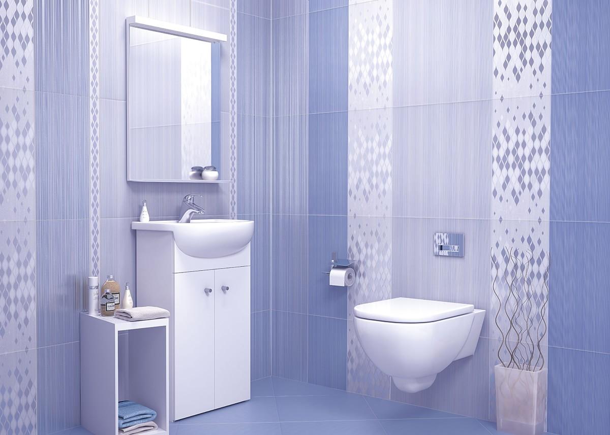 Керамическая плитка для ванной - фото (95)