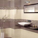 Керамическая плитка для ванной - фото (99)
