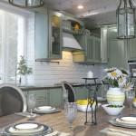 Кухня в стиле прованс (11)