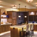 Освещение на кухне (25)