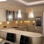 Освещение на кухне (62)