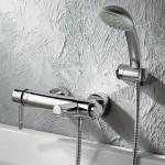Смеситель для ванны с душем на фото (12)