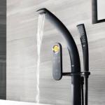 Смеситель для ванны с душем на фото (2)
