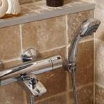 Смеситель для ванны с душем на фото (7)