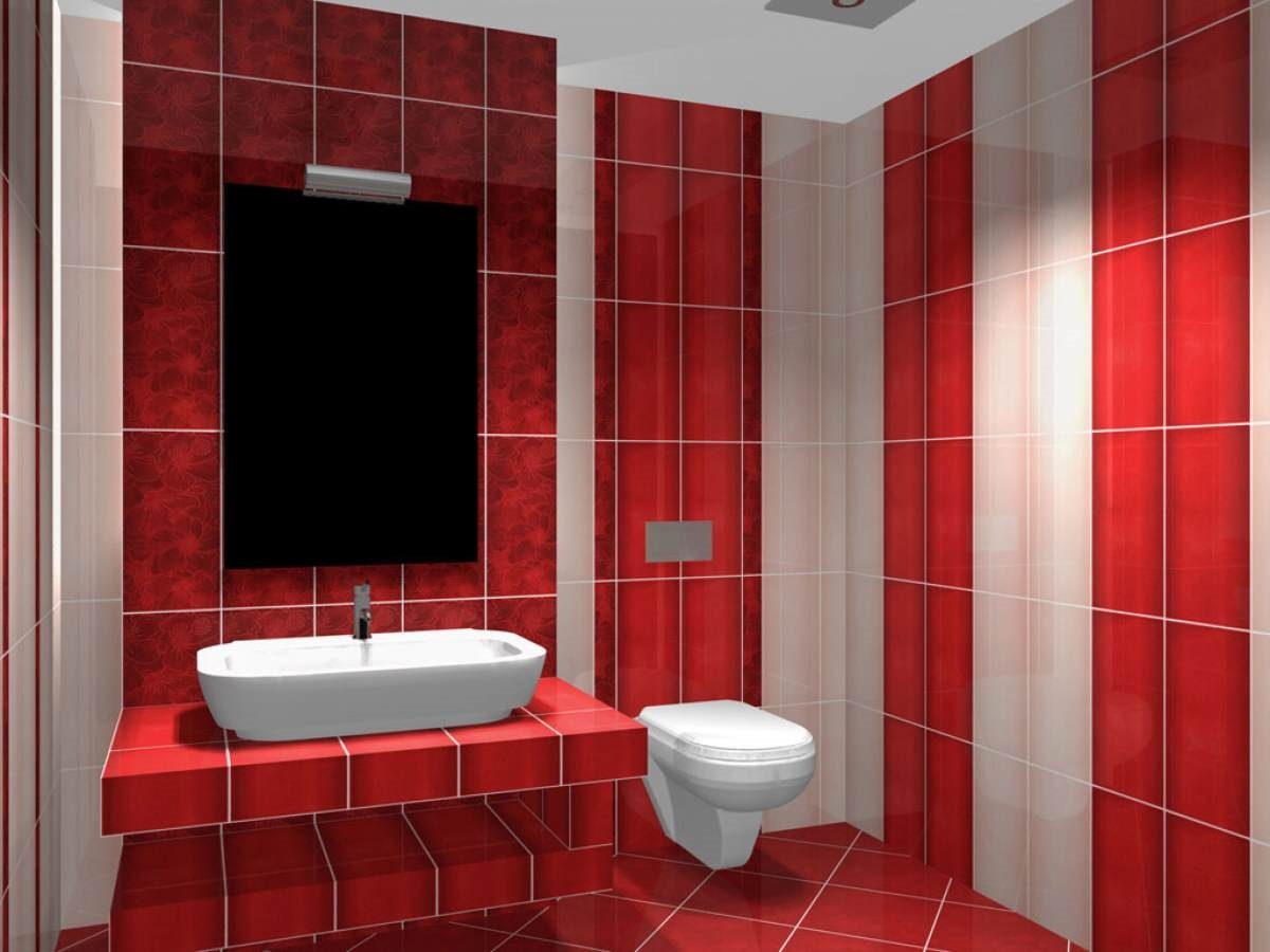 Дизайн укладки керамической плитки в ванной комнате