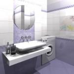 Фотографии плитки для ванной комнаты (7)
