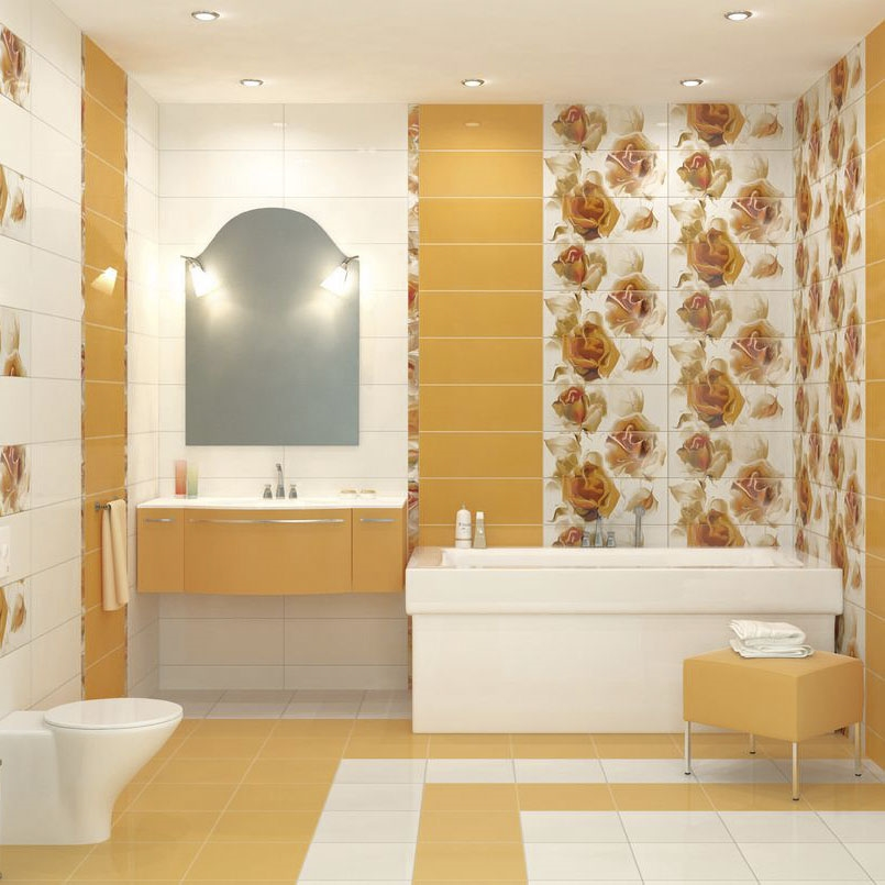 Фотографии плитки для ванной комнаты (93)