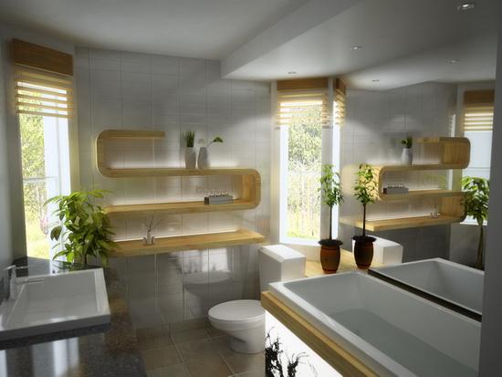 ванная место для экспериментов