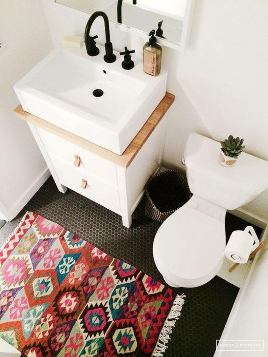 декор в ванной комнате