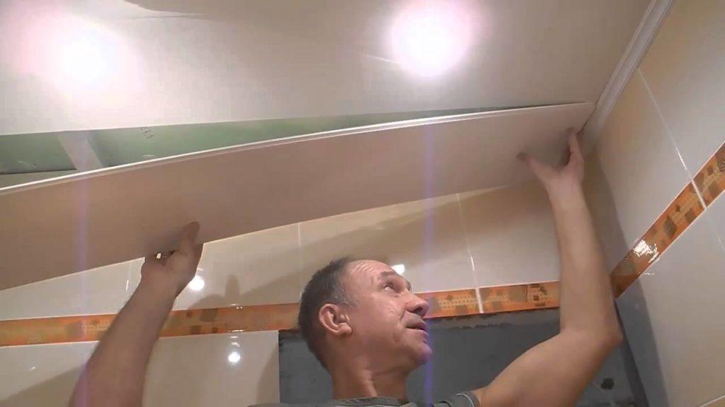 устройство подвесных потолков