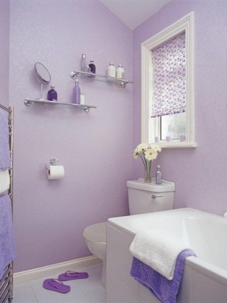способы оттелки стен в ванной