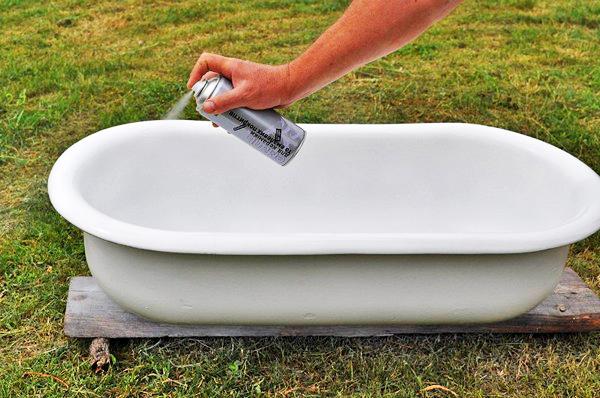 восстанавливаем ванну