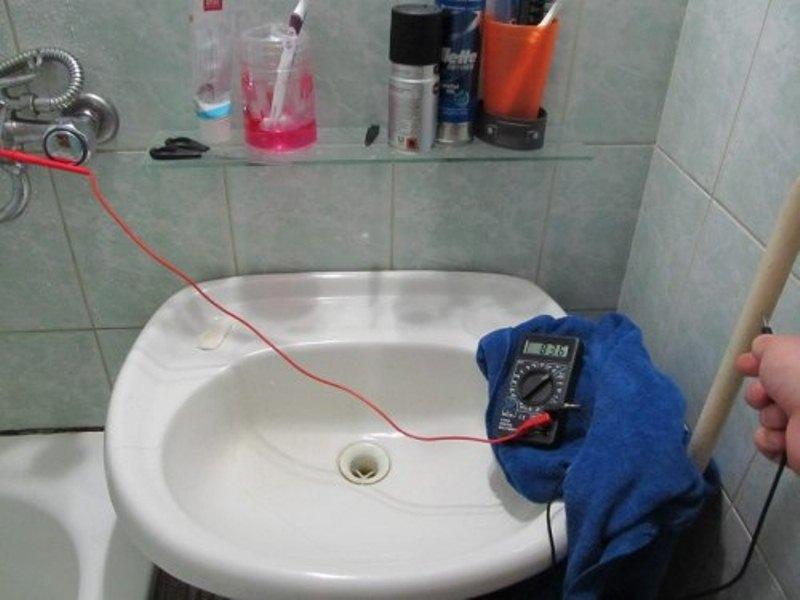 заземление в ванной