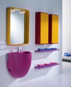 Мебель из Испании в ванную комнату
