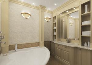 Лепнина в ванной комнате фото