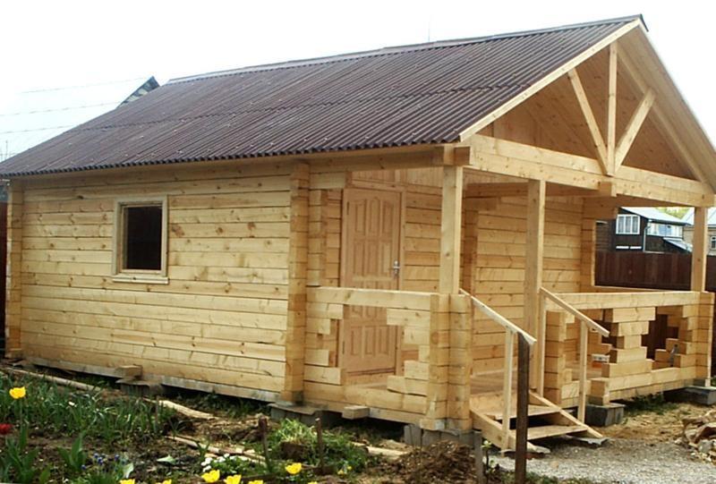 Как построить брусовой дом своими руками