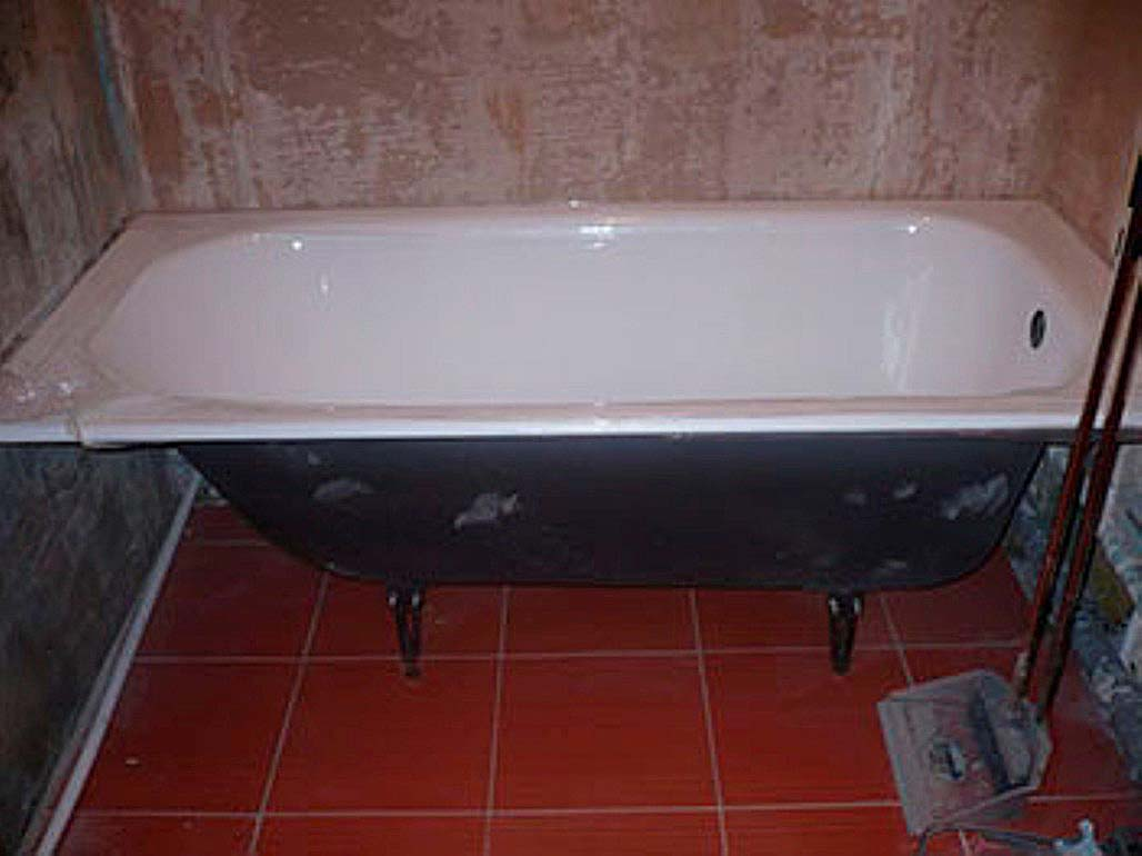 Как правильно установить чугунную ванну на ножках