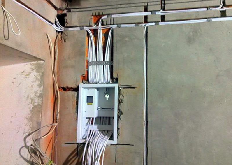 Монтаж электропроводки своими руками фото