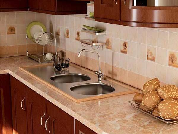 Плитка для стен кухни фото