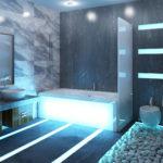 ванна в морском стиле